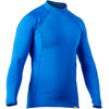 NRS M's HydroSkin 0.5 L/S Shirt Marine Blue